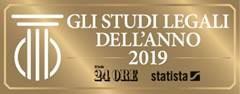 Targa gli Studi Legali dell'anno 2019 Sole 24 Ore